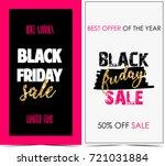 black friday banners  | Shutterstock . vector #721031884