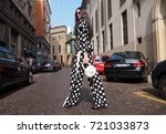 milan   september 22  a... | Shutterstock . vector #721033873