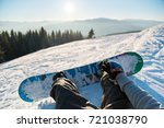 point of view shot of a female... | Shutterstock . vector #721038790
