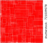 generic rectangle pattern  red. | Shutterstock .eps vector #721039078