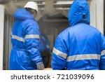 transporting goods in the...   Shutterstock . vector #721039096