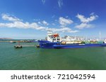 russia  the kerch strait  ... | Shutterstock . vector #721042594