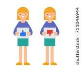 vector illustration of women... | Shutterstock .eps vector #721046944