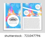 abstract vector layout... | Shutterstock .eps vector #721047796