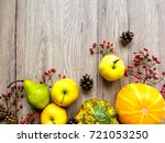 stylish composition of colorful ... | Shutterstock . vector #721053250