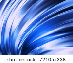 blue wave abstract background... | Shutterstock . vector #721055338