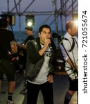 Small photo of ODESSA, UKRAINE - August 22, 2017: American rock band ZEBRAHEAD from Orange County, California, combining styles of pop punk, punk rock and rapkor at Z-games festival