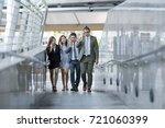 business people alway... | Shutterstock . vector #721060399