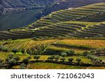 douro valley  portugal  ... | Shutterstock . vector #721062043