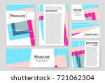 abstract vector layout...   Shutterstock .eps vector #721062304
