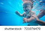 baby background. happy infant... | Shutterstock . vector #721076470