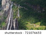 seven sisters waterfall in... | Shutterstock . vector #721076653