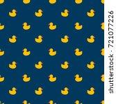 pattern ducks | Shutterstock .eps vector #721077226