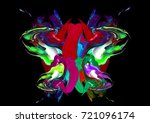 colorful artistic background   Shutterstock . vector #721096174