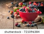 Ripe Sweet Different Berries I...