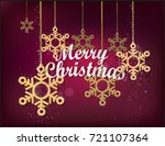 a poster of a dark red... | Shutterstock .eps vector #721107364