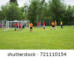 solnechnogorsk   june 11  men... | Shutterstock . vector #721110154