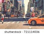 New York City   Usa  April 17 ...