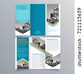 brochure design  brochure... | Shutterstock .eps vector #721115659