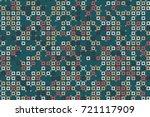 geometric pattern design  | Shutterstock .eps vector #721117909