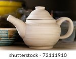 The Teapot In Potter's Workshop