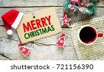 merry christmas. christmas...   Shutterstock . vector #721156390