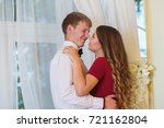 couple in love  romance | Shutterstock . vector #721162804