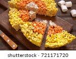 Crispy Oat Rings Candy Corn...