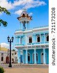 Blue Building Of Cienfuegos ...
