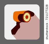 museum security camera concept... | Shutterstock .eps vector #721177228