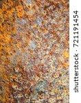 metal rust background metal... | Shutterstock . vector #721191454