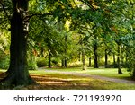 autumn landscape | Shutterstock . vector #721193920