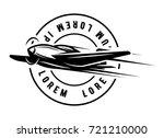 vector monochrome illustration... | Shutterstock .eps vector #721210000