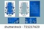 vector illustration postcard.... | Shutterstock .eps vector #721217623