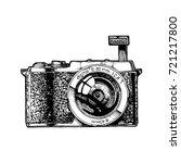 milk. mirrorless... | Shutterstock .eps vector #721217800