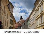 the street in graz  austria... | Shutterstock . vector #721239889