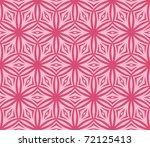 seamless delicate pink vector... | Shutterstock .eps vector #72125413