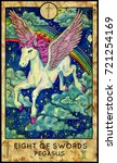 Pegasus. Eight Of Swords....
