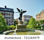 angel of the waters   boston... | Shutterstock . vector #721264579