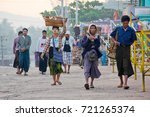 kyaiktiyo  myanmar   march 9 ... | Shutterstock . vector #721265374