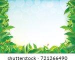 spring and summer | Shutterstock .eps vector #721266490