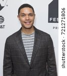 Small photo of New York, NY USA - September 24, 2017: Trevor Noah attends Conversation with Trevor Noah & the writers of the Daily Show during Tribeca TV festival at Cinepolis Chelsea