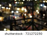 rooftop balcony view  blurred...   Shutterstock . vector #721272250