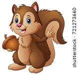 vector illustration of cartoon... | Shutterstock .eps vector #721273660