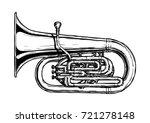 hand drawn illustration of ... | Shutterstock . vector #721278148