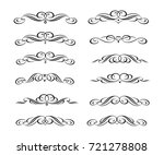 design elements. vector... | Shutterstock .eps vector #721278808