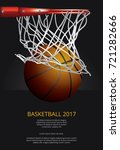 basketball poster advertising... | Shutterstock .eps vector #721282666