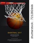basketball poster advertising... | Shutterstock .eps vector #721282666