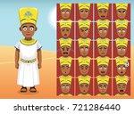 egypt menes cartoon emotion...