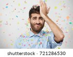 forgetfulness concept.... | Shutterstock . vector #721286530